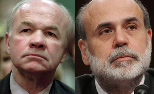 Ken Lay, Ben Bernanke