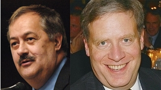 Massey Energy CEO Don Blankenship and bubble baron Stan Druckenmiller.