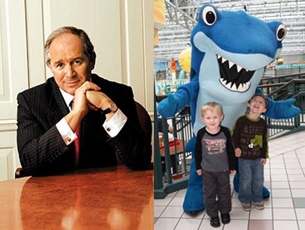 Schwarzman and Underwater Adventures' Sharky.